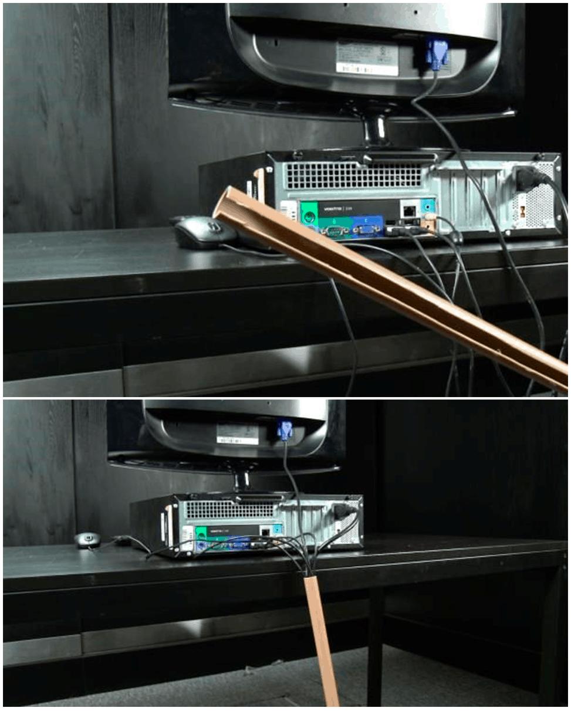 esconder-fio-cabo-tubo-pvc