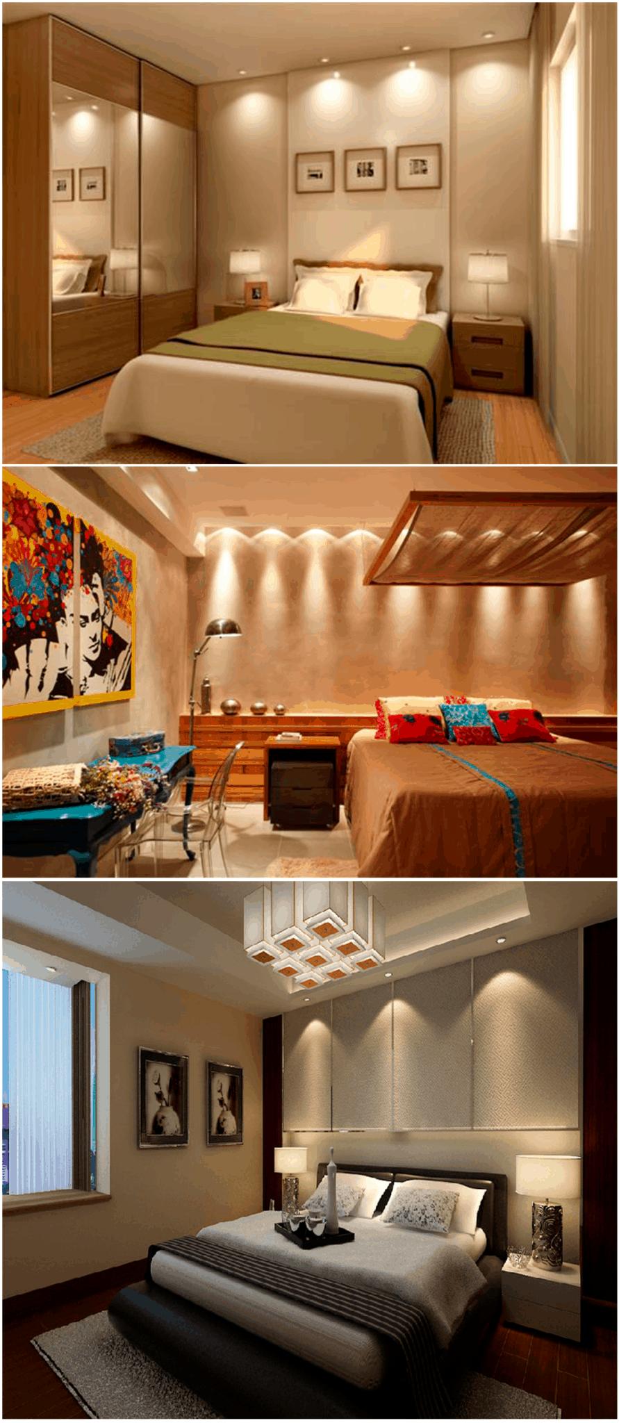 como-decorar-quarto-de-casal-iluminação