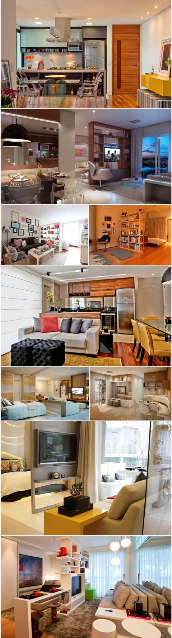 decoração de apartamento pequeno e simples-intro