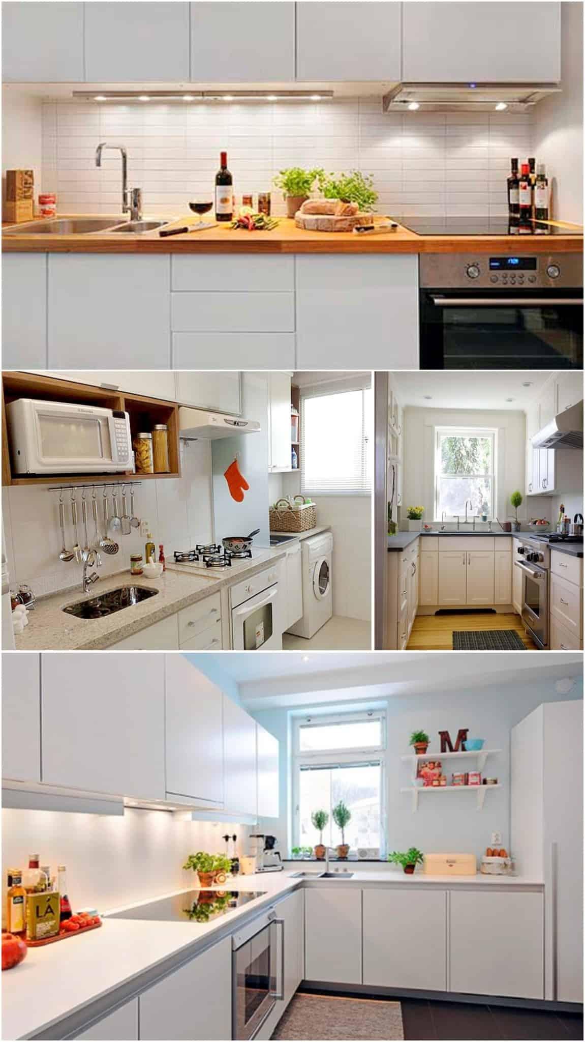 decoração para apartamento pequeno cooktop