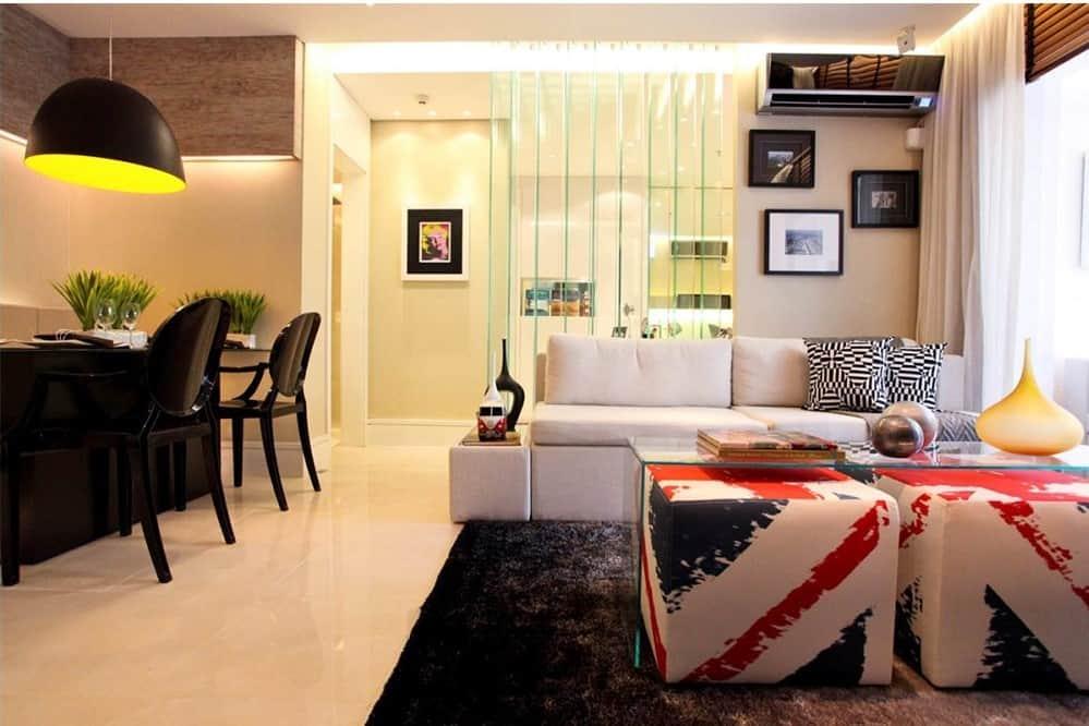 Decora o de apartamento pequeno 7 solu es pr ticas e for Acabados para apartamentos pequenos