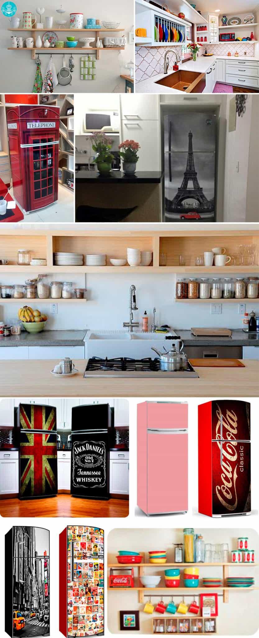 decorar cozinha estreita