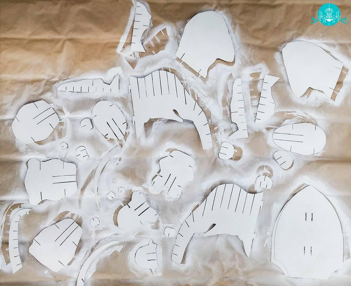 Cabeça de Elefante 3D